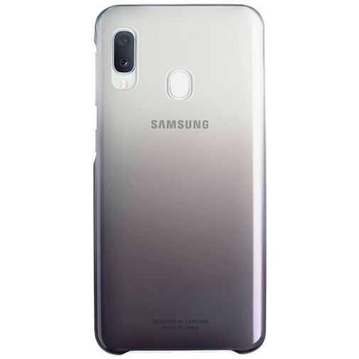 Productafbeelding van de Samsung Gradation Cover Black Galaxy A20e