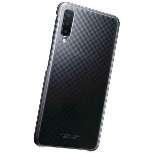 Productafbeelding van de Samsung Gradation Cover Black Galaxy A7 (2018)