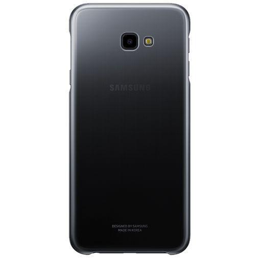 Productafbeelding van de Samsung Gradation Cover Black Galaxy J4+