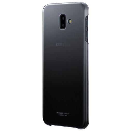 Productafbeelding van de Samsung Gradation Cover Black Galaxy J6+