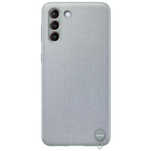 Productafbeelding van de Samsung Kvadrat Back Cover Grijs Samsung Galaxy S21+