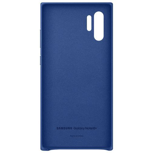 Produktimage des Samsung Leather Cover Blau Galaxy Note 10+