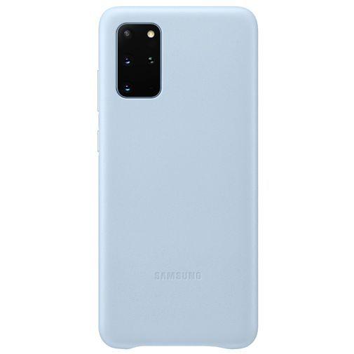 Productafbeelding van de Samsung Leather Cover Blue Galaxy S20+