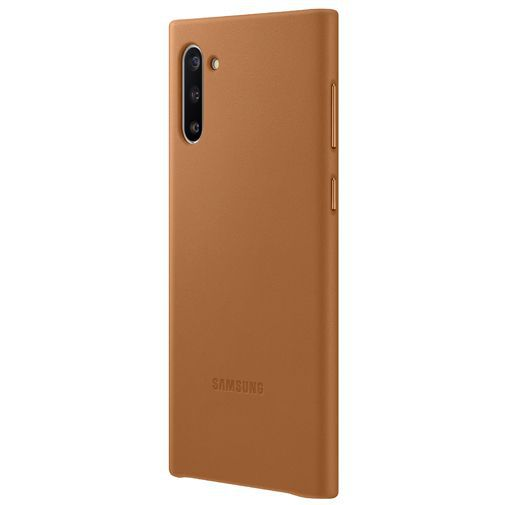 Produktimage des Samsung Leather Cover Beige Galaxy Note 10