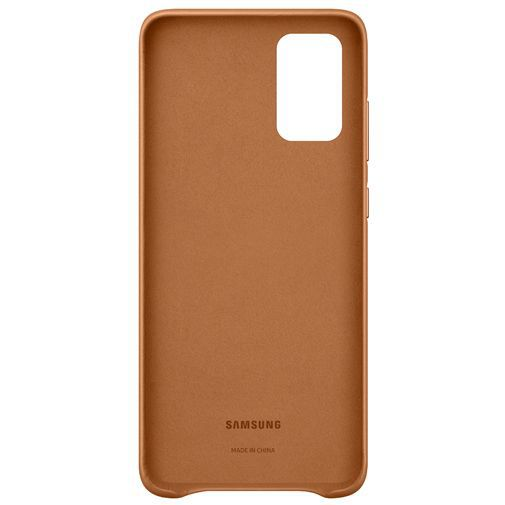 Productafbeelding van de Samsung Leather Cover Brown Galaxy S20+