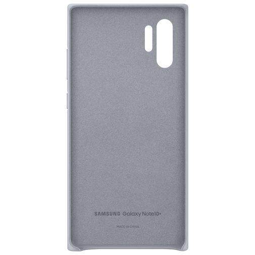 Produktimage des Samsung Leather Cover Grau Galaxy Note 10+