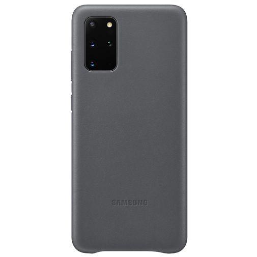 Productafbeelding van de Samsung Leather Cover Grey Galaxy S20+