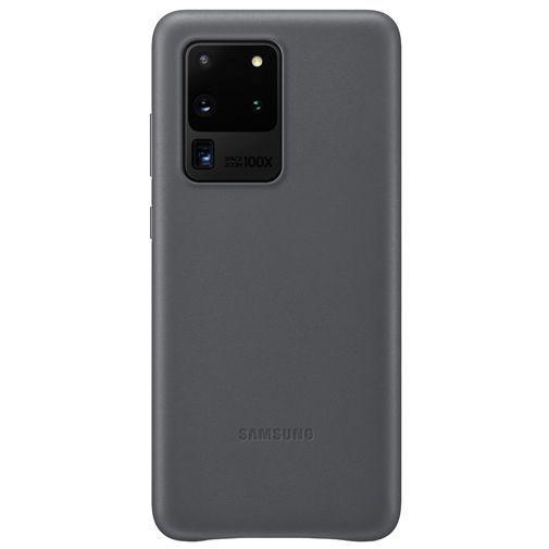 Productafbeelding van de Samsung Leather Cover Grey Galaxy S20 Ultra