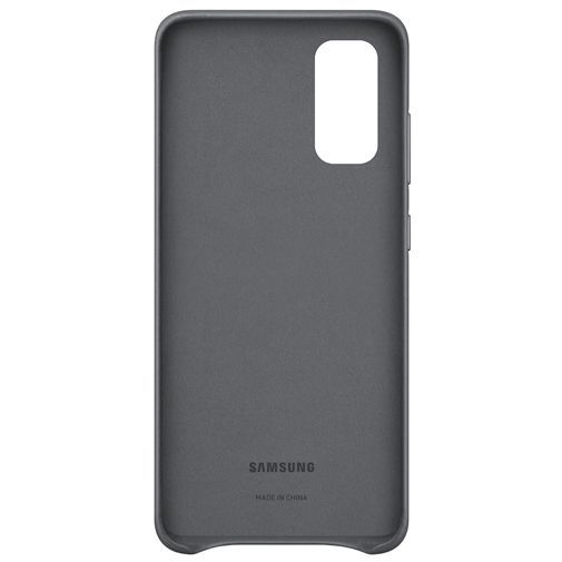 Productafbeelding van de Samsung Leather Cover Grey Galaxy S20