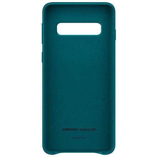 Produktimage des Samsung Leather Cover Grün Galaxy S10