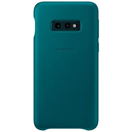 Productafbeelding van de Samsung Leather Cover Green Galaxy S10e