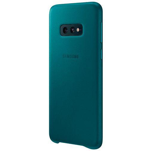 Produktimage des Samsung Leather Cover Grün Galaxy S10e