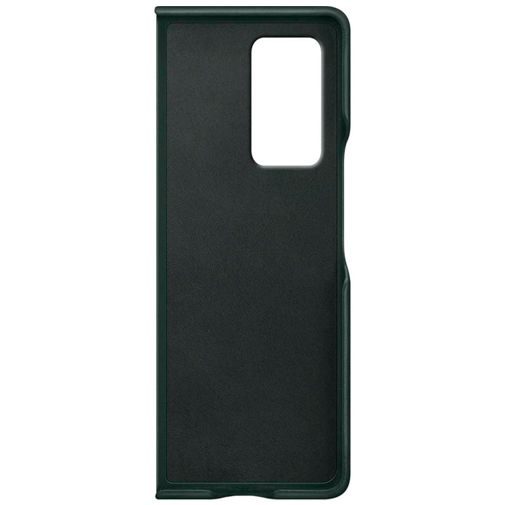 Productafbeelding van de Samsung Leather Cover Green Galaxy Z Fold 2