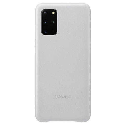 Productafbeelding van de Samsung Leather Cover Light Grey Galaxy S20+