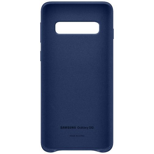 Produktimage des Samsung Leather Cover Navy Galaxy S10