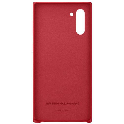 Productafbeelding van de Samsung Leather Cover Red Galaxy Note 10