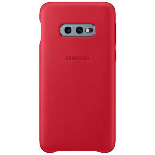 Productafbeelding van de Samsung Leather Cover Red Galaxy S10e