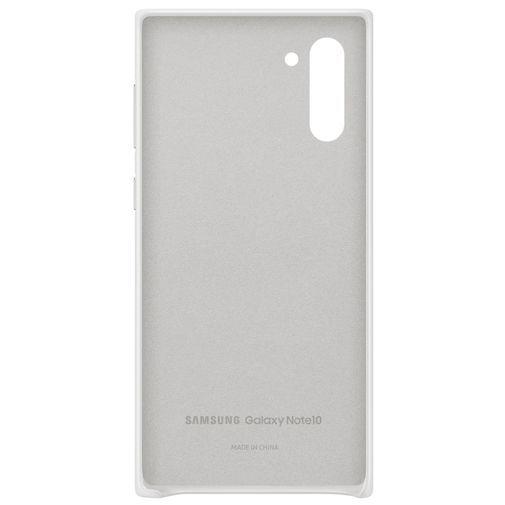 Produktimage des Samsung Leather Cover Weiß Galaxy Note 10