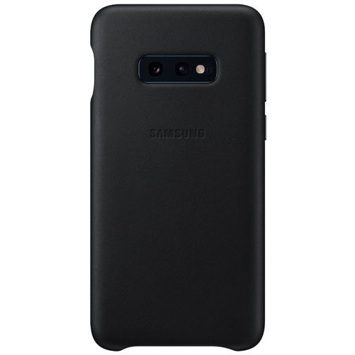 Productafbeelding van de Samsung Leather Cover Black Galaxy S10e