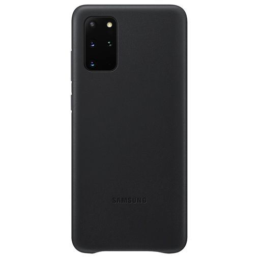 Productafbeelding van de Samsung Leather Cover Black Galaxy S20+