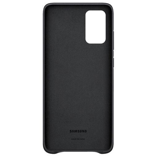 Produktimage des Samsung Leather Cover Schwarz Galaxy S20+