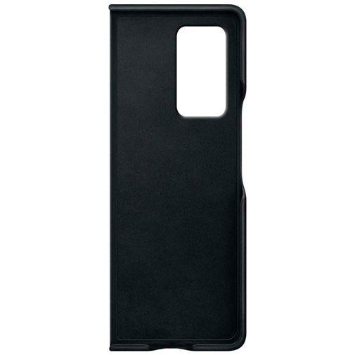 Productafbeelding van de Samsung Leather Cover Black Galaxy Z Fold 2
