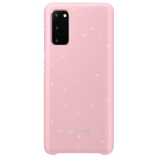 Productafbeelding van de Samsung LED Cover Pink Galaxy S20