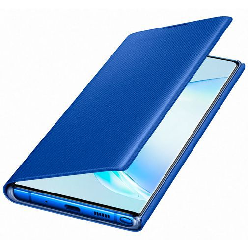Produktimage des Samsung LED View Cover Blau Galaxy Note 10+
