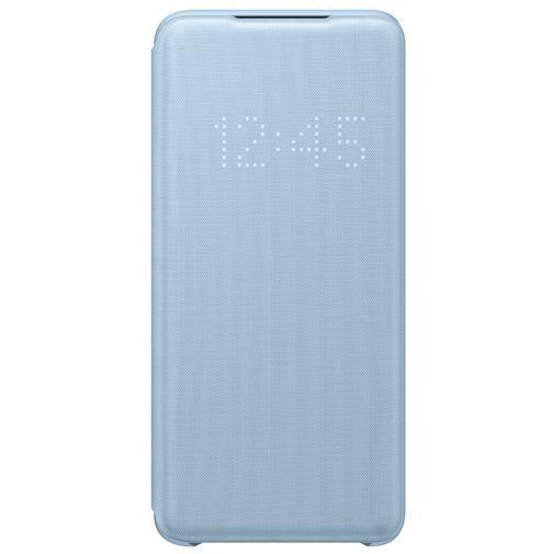 Productafbeelding van de Samsung LED View Cover Blue Galaxy S20