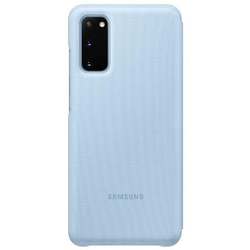 Produktimage des Samsung LED View Cover Blau Galaxy S20