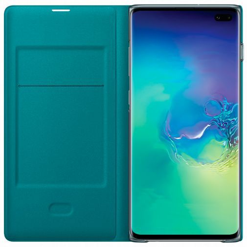 Productafbeelding van de Samsung LED View Cover Green Galaxy S10+