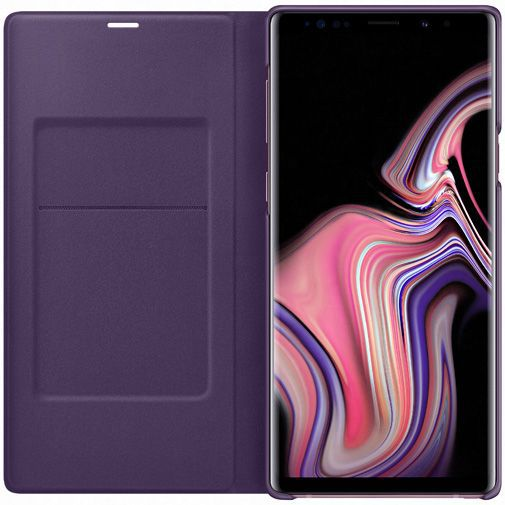 Produktimage des Samsung LED View Cover Lila Galaxy Note 9