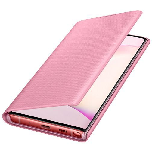 Produktimage des Samsung LED View Cover Pink Galaxy Note 10