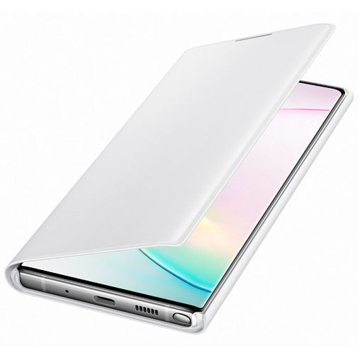 Produktimage des Samsung LED View Cover Weiß Galaxy Note 10+