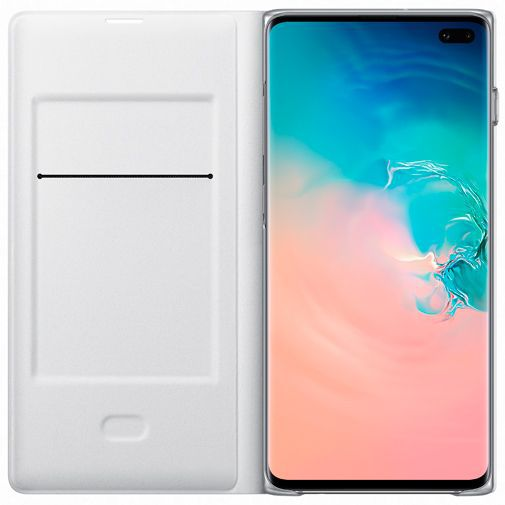 Productafbeelding van de Samsung LED View Cover White Galaxy S10+