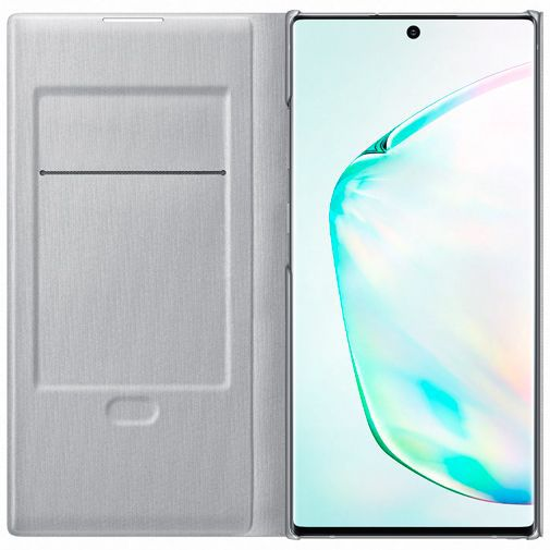 Produktimage des Samsung LED View Cover Silber Galaxy Note 10+
