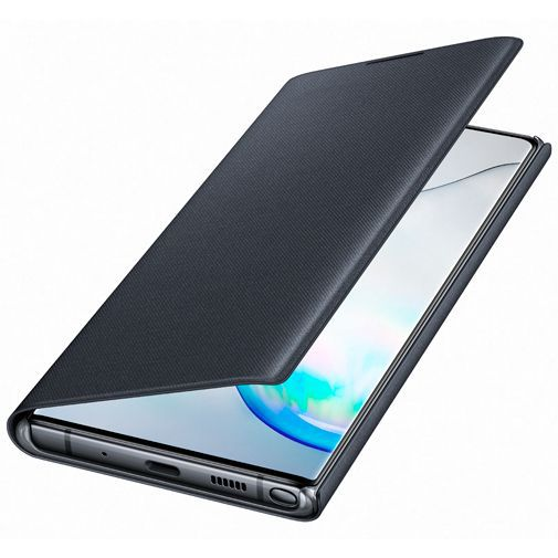 Produktimage des Samsung LED View Cover Schwarz Galaxy Note 10+