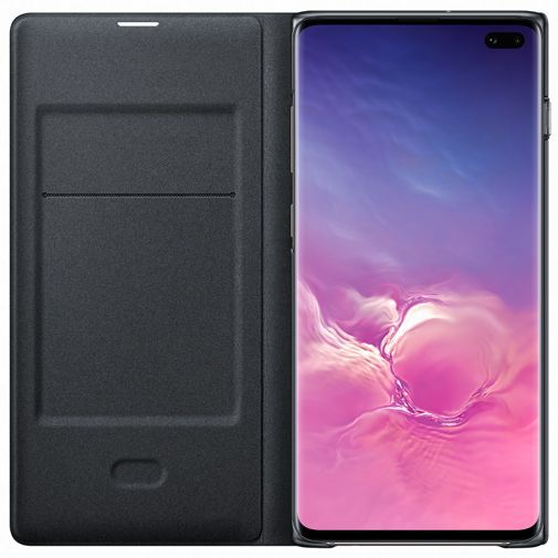 Productafbeelding van de Samsung LED View Cover Black Galaxy S10+