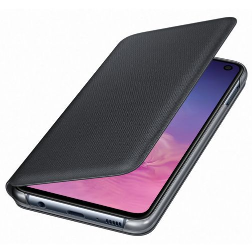 Produktimage des Samsung LED View Cover Schwarz Galaxy S10e