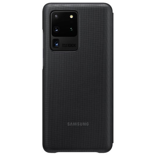 Productafbeelding van de Samsung LED View Cover Black Galaxy S20 Ultra
