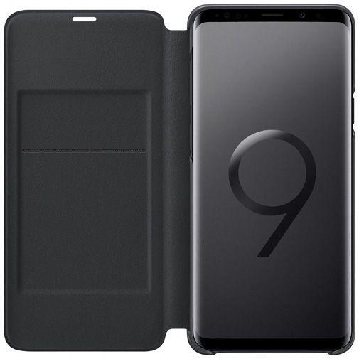 Productafbeelding van de Samsung LED View Cover Black Galaxy S9+