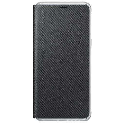 Productafbeelding van de Samsung Neon Flip Cover Black Galaxy A8 (2018)