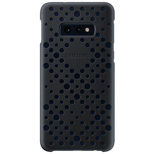 Productafbeelding van de Samsung Pattern Cover Black/Green Galaxy S10e