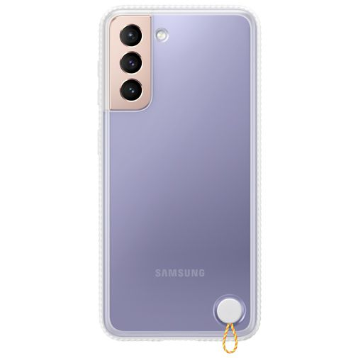 Productafbeelding van de Samsung PC Clear Protective Back Cover Wit Samsung Galaxy S21