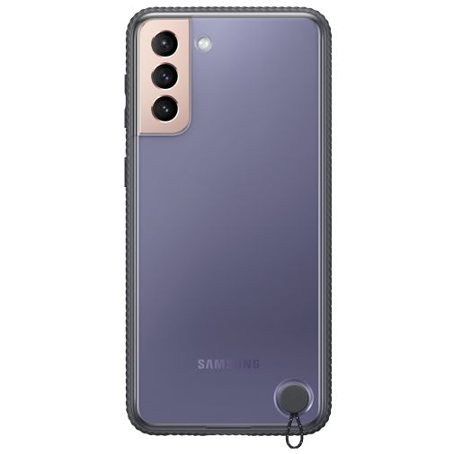 Productafbeelding van de Samsung PC Clear Protective Back Cover Zwart Samsung Galaxy S21+