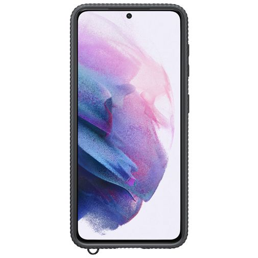 Productafbeelding van de Samsung PC Clear Protective Back Cover Zwart Samsung Galaxy S21