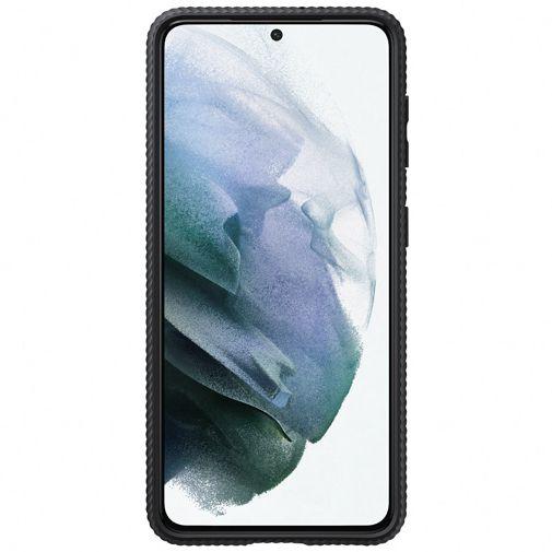 Productafbeelding van de Samsung PC Protective Standing Back Cover Zwart Samsung Galaxy S21