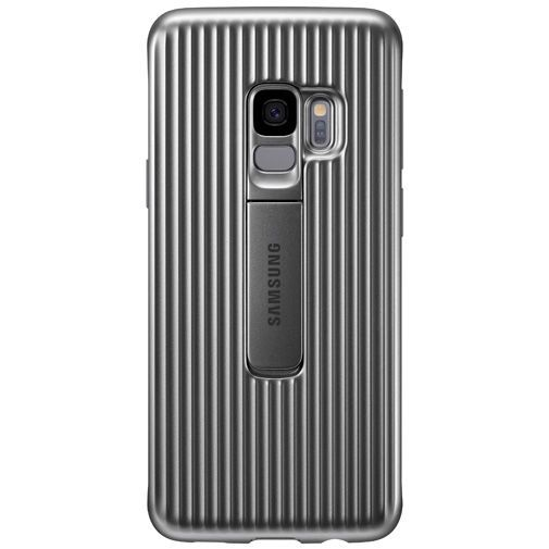 Productafbeelding van de Samsung Protective Standing Cover Silver Galaxy S9