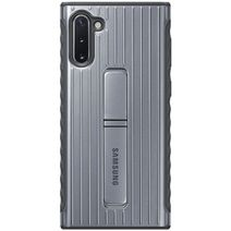 Produktimage des Samsung Protective Standing Cover Silver Galaxy Note 10