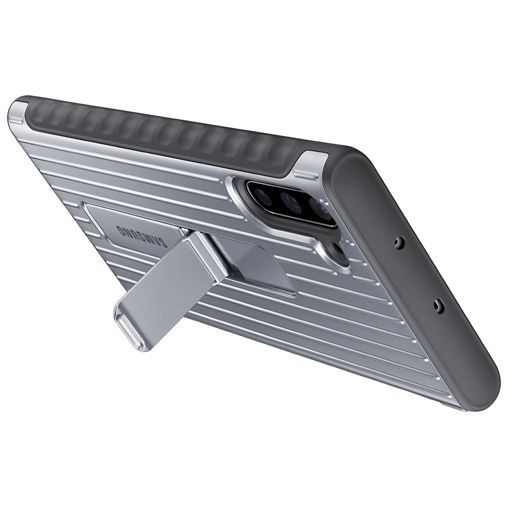 Produktimage des Samsung Protective Standing Cover Silber Galaxy Note 10